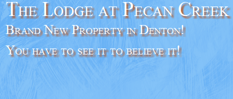 Denton Texas Apartments - The Lodge at Pecan Creek