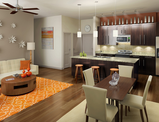 Uptown Dallas Apartments - Eon at Maple