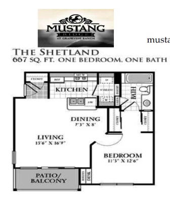 Mustang Ridge At Grapevine Ranch Apartments Mustang