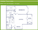 1-1 apartment floor plan for rent gables town lake, one bedroom apartments gables town lake austin tx, one bed one bath apartment floor plan austin te