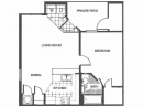 Spacious 2 Bedroom Floor Plan in Round Rock, TX