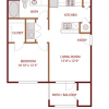 One Bed, One Bath Apartment for Lease - AMLI at Fossil Lake