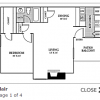 Blair Floor Plan for Lease at Wyndward Addison