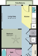 Rent One Bedroom Savoye at Vitruvian Park Apartments!
