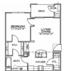 A1 Apartment Floor Plan