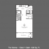 Vibrant One Bedroom Apartment Floor Plan offering Lease Special!!!