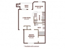 One Bedroom Apartment at Amli Upper West Side