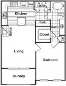 1-1 apartments league city tx, sorrento at tuscan lake apartments floor plan