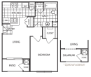 1-1 Apartment in The Woodlands, Texas