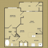 1-1 The Magnolia Floor Plan