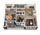 1-1 Apartment for Rent