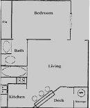 1-1 Apartment in Georgetown, Texas