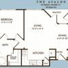 One Bedroom Apartment The Avalon