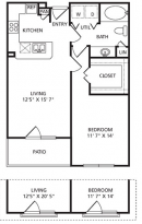 A1 The Metropolitan Floor Plan
