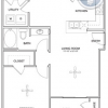 1-1 Floor Plan in Stafford, TX