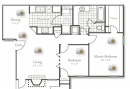 2-2 Apartment Floor Plan
