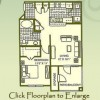 1 Bed / 1 Bath Floor Plan