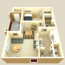 One Bedroom Villa Apartment