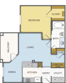1 Bedroom Apartment in Humble