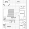 Great Floor Plan Layout at these Far North Dallas Apartments