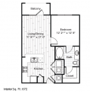 the ava apartments floor plan