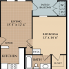 Find Various One Bedroom Floor Plans at San Antonio Medical Center Apartments