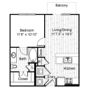 One Bedroom Apartment- Uptown Dallas Apartment Rentals