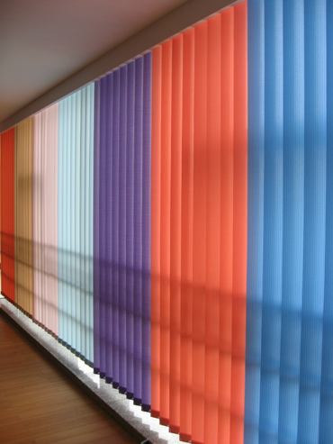 Austin Apartments with Vertical Blinds